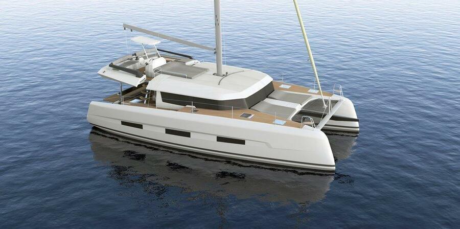 Dufour 48 Catamaran - 4 + 2 cab. (SHU - BLUE HULL, A/C+GEN., UNDERWATER LIGHTS)  - 5