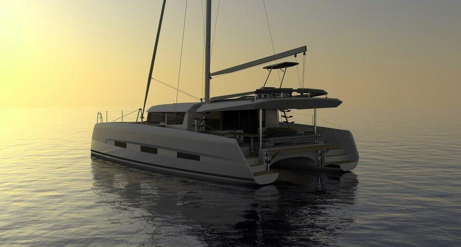Dufour 48 Catamaran - 4 + 2 cab. (SHU - BLUE HULL, A/C+GEN., UNDERWATER LIGHTS)  - 6