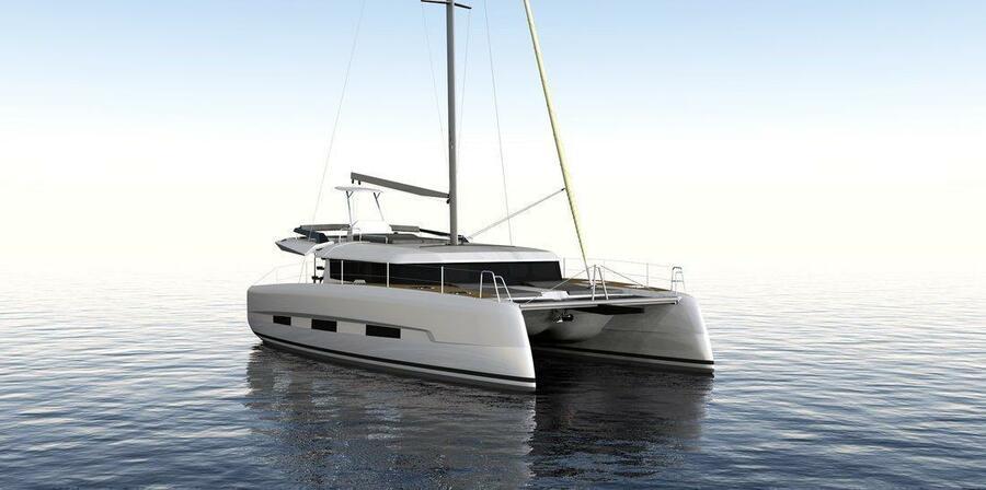 Dufour 48 Catamaran - 4 + 2 cab. (SHU - BLUE HULL, A/C+GEN., UNDERWATER LIGHTS)  - 7