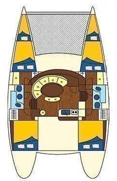 Lagoon 380 - 4 + 2 cab. (Eftychia 5)  - 1