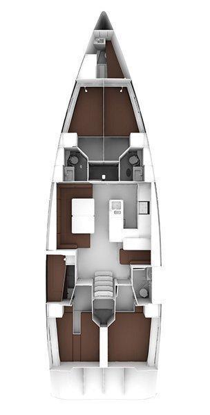 Bavaria Cruiser 56 - 5 + 1 cab. (Sea Flower)  - 1