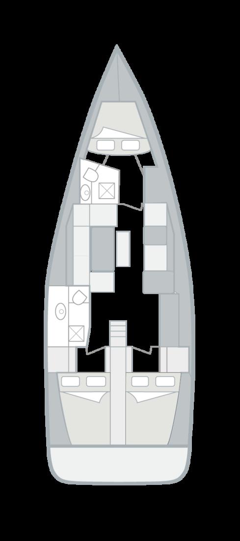 Dufour 412 GL (AINA)  - 1