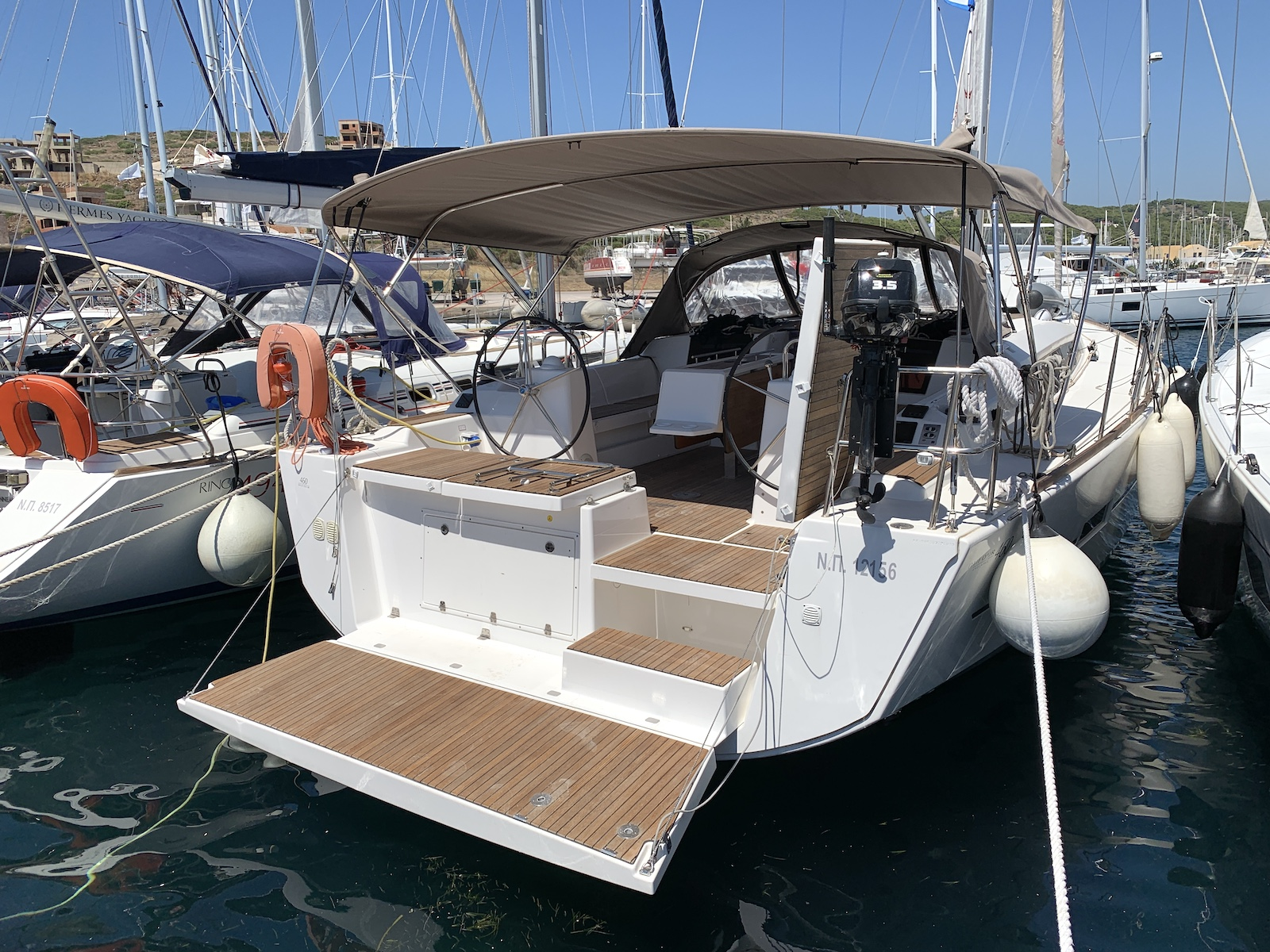 Dufour 460 GL - 5 cab. (Fish N'Chips)  - 0