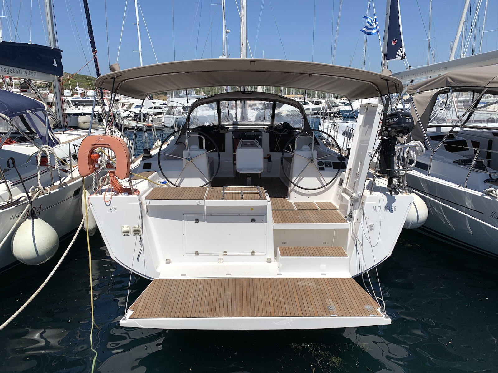 Dufour 460 GL - 5 cab. (Fish N'Chips)  - 11