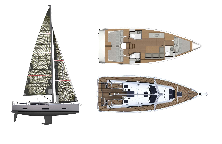 Dufour 390 GL (Barracuda)  - 1