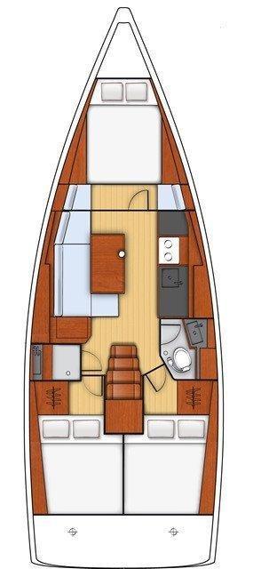Oceanis 38.1 (Bordeaux)  - 1