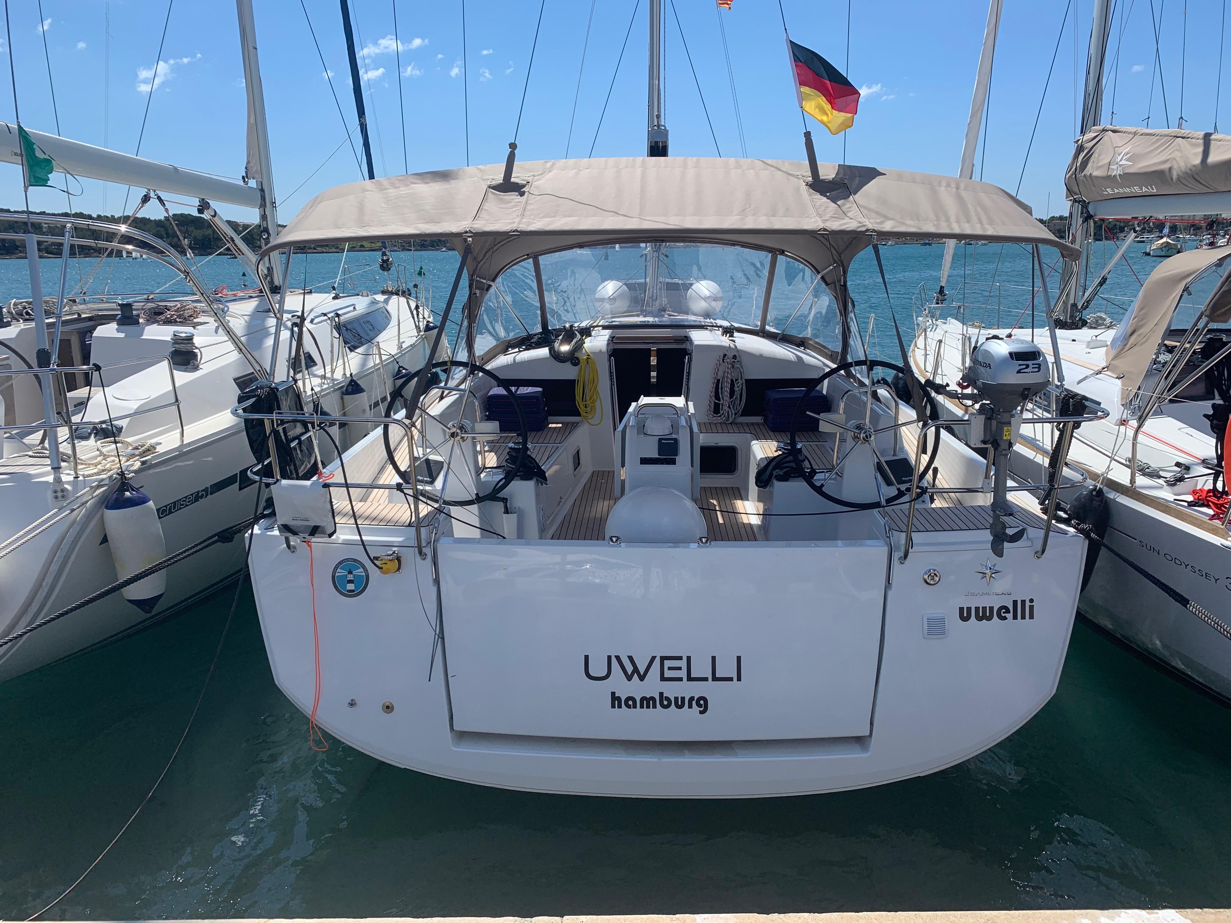 Sun Odyssey 440 (UwElli)  - 3