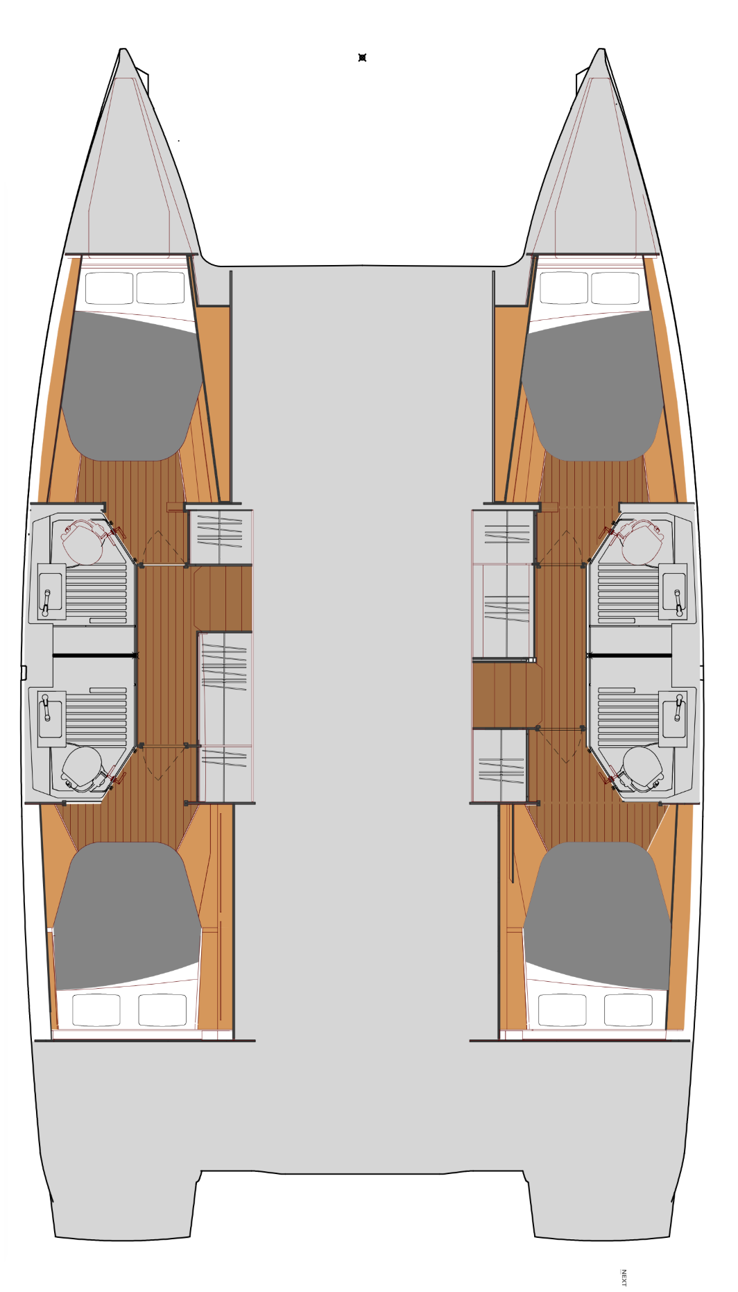 Fountaine Pajot Astrea 42 (OCEAN RUNNER with AC and generator)  - 1