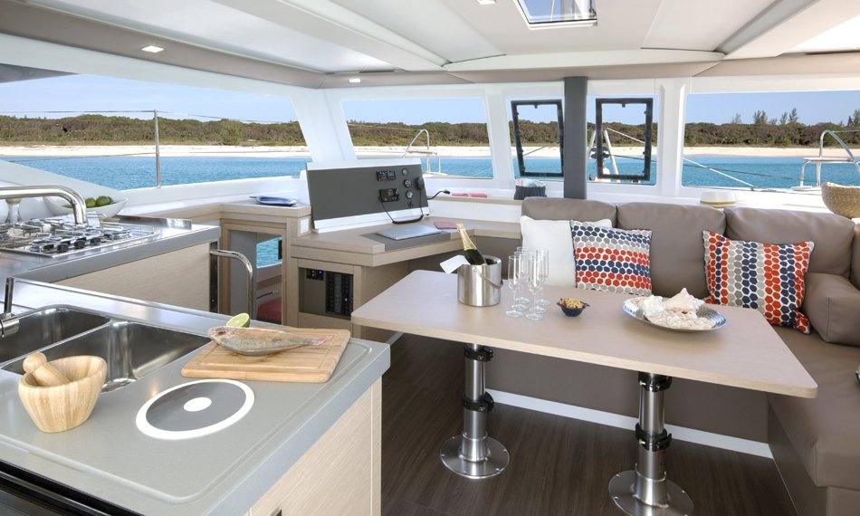 Fountaine Pajot Lucia 40 - 3 cab. (Nala with AC and generator)  - 1