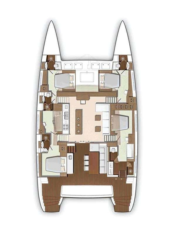 Lagoon 630 Motor Yacht - 5 cab. (Number 13)  - 1