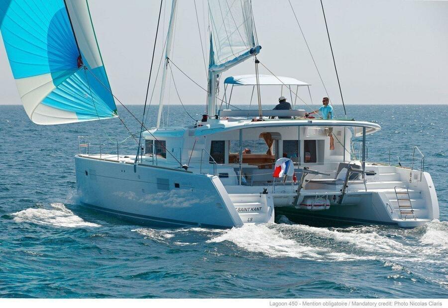 Lagoon 450 - 3 cab. (Claire Sailing (FRIDAY))  - 0
