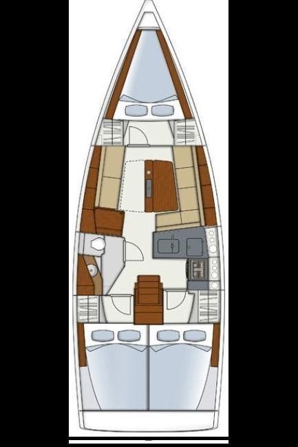 Hanse 345 (SunShine)  - 1