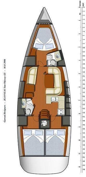 Sun Odyssey 42i (Nihal)  - 1