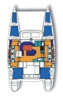 Lagoon 410 S2 - 6 cab. (Dora IV)  - 1