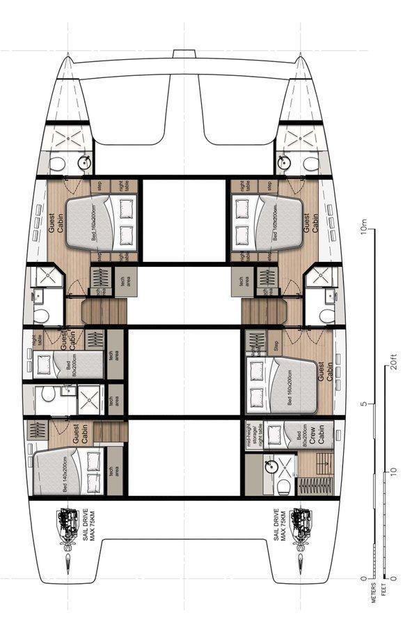 Sunreef 50 - 5 + 1 cab. (Tiril (Crewed))  - 1