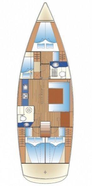 Bavaria 47 Cruiser (Daiquiri 42)  - 1