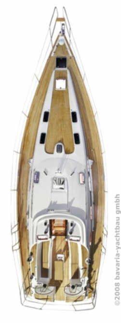 Bavaria 47 Cruiser (Daiquiri 42)  - 2
