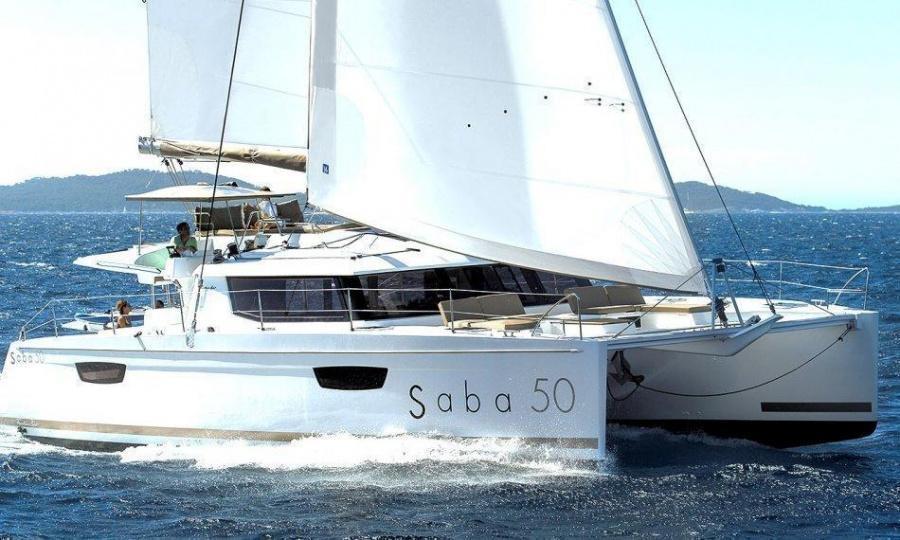 Fountaine Pajot Saba 50 - 6 + 2 cab. (Waterloo)  - 0