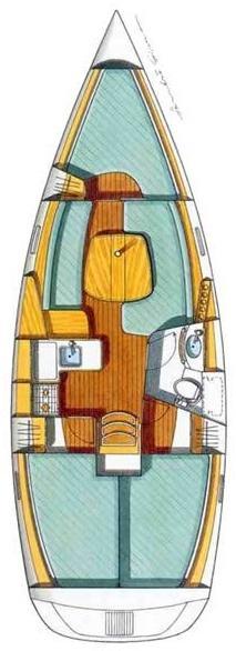 Oceanis Clipper 331 (Irene)  - 1