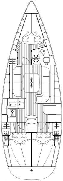 Bavaria 37 Cruiser (Hespera)  - 1