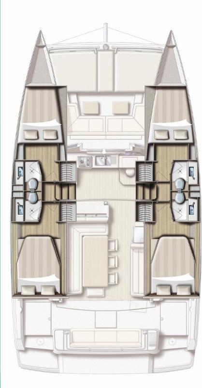 Bali 4.1 - 4 cab. (Sea Lounge)  - 1
