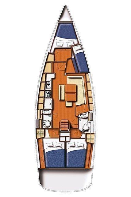 Oceanis 43 (Andromachi)  - 1