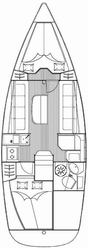 Bavaria 30 Cruiser (Nina)  - 1