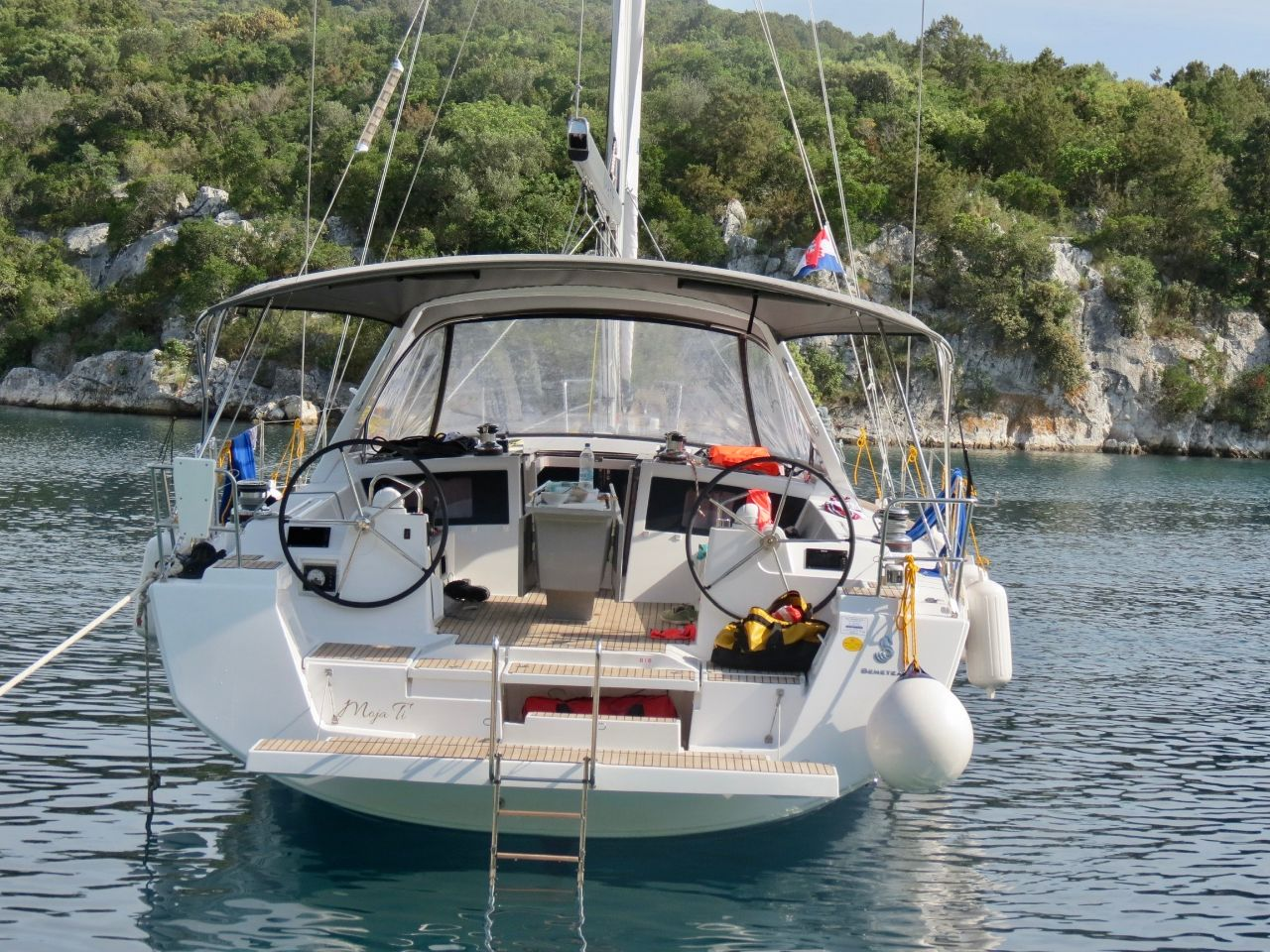 Oceanis 48 - 5 cab. (Moja ti)  - 3