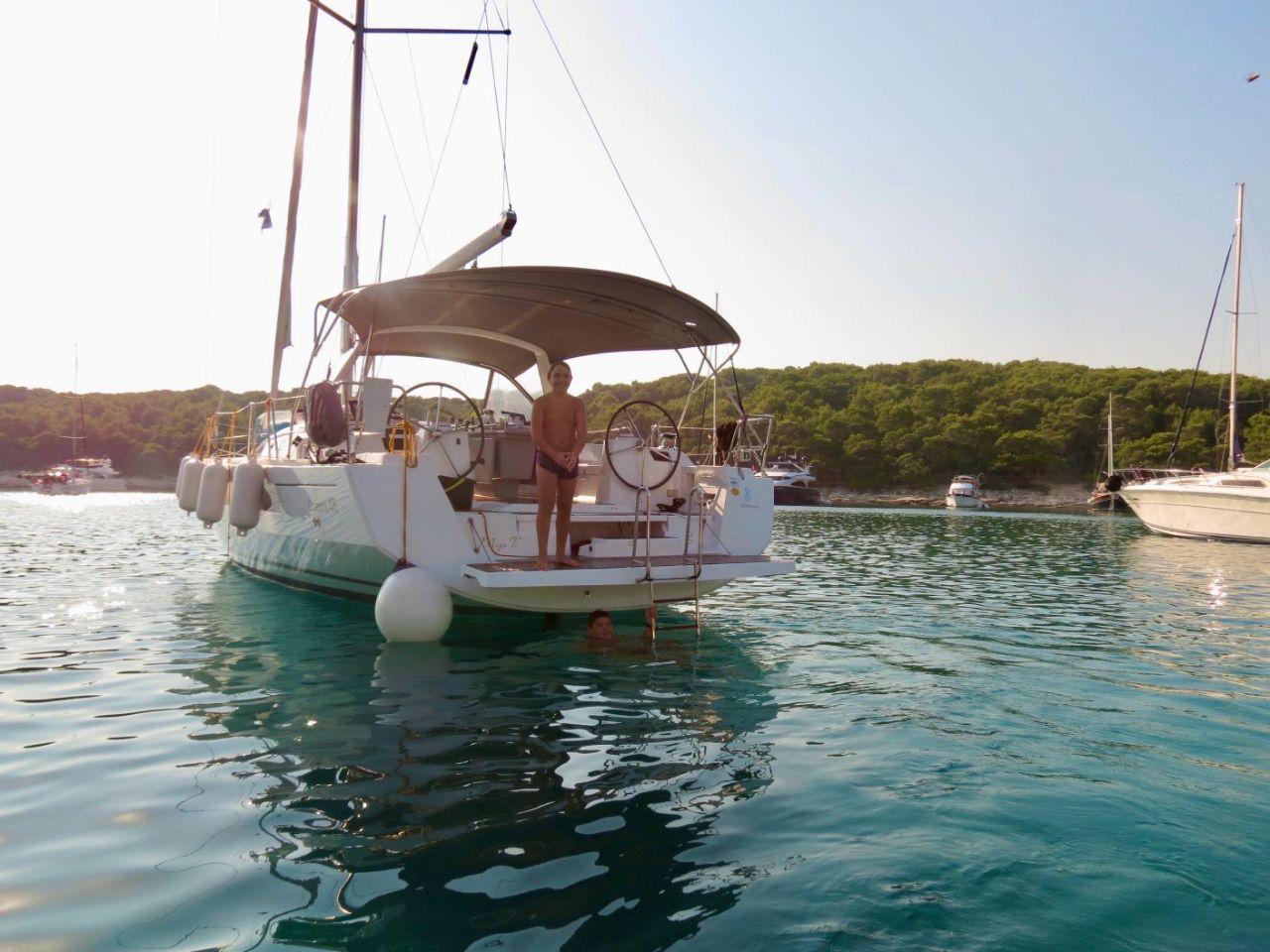 Oceanis 48 - 5 cab. (Moja ti)  - 9