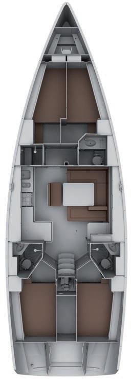 Bavaria Cruiser 45 - 4 cab. (Sail Bravo)  - 1