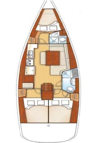 Oceanis 40  (Sail Alpha)  - 7