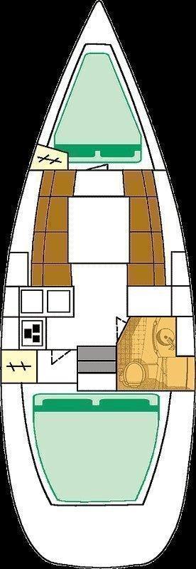 Oceanis 311 (Seirios)  - 1