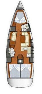 Sun Odyssey 42i (Aegean Spirit)  - 1