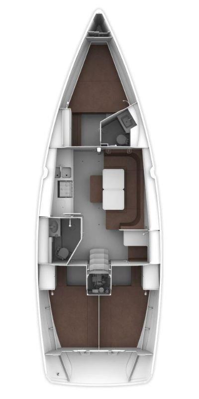 Bavaria Cruiser 41 - 3 cab. (Ile)  - 1