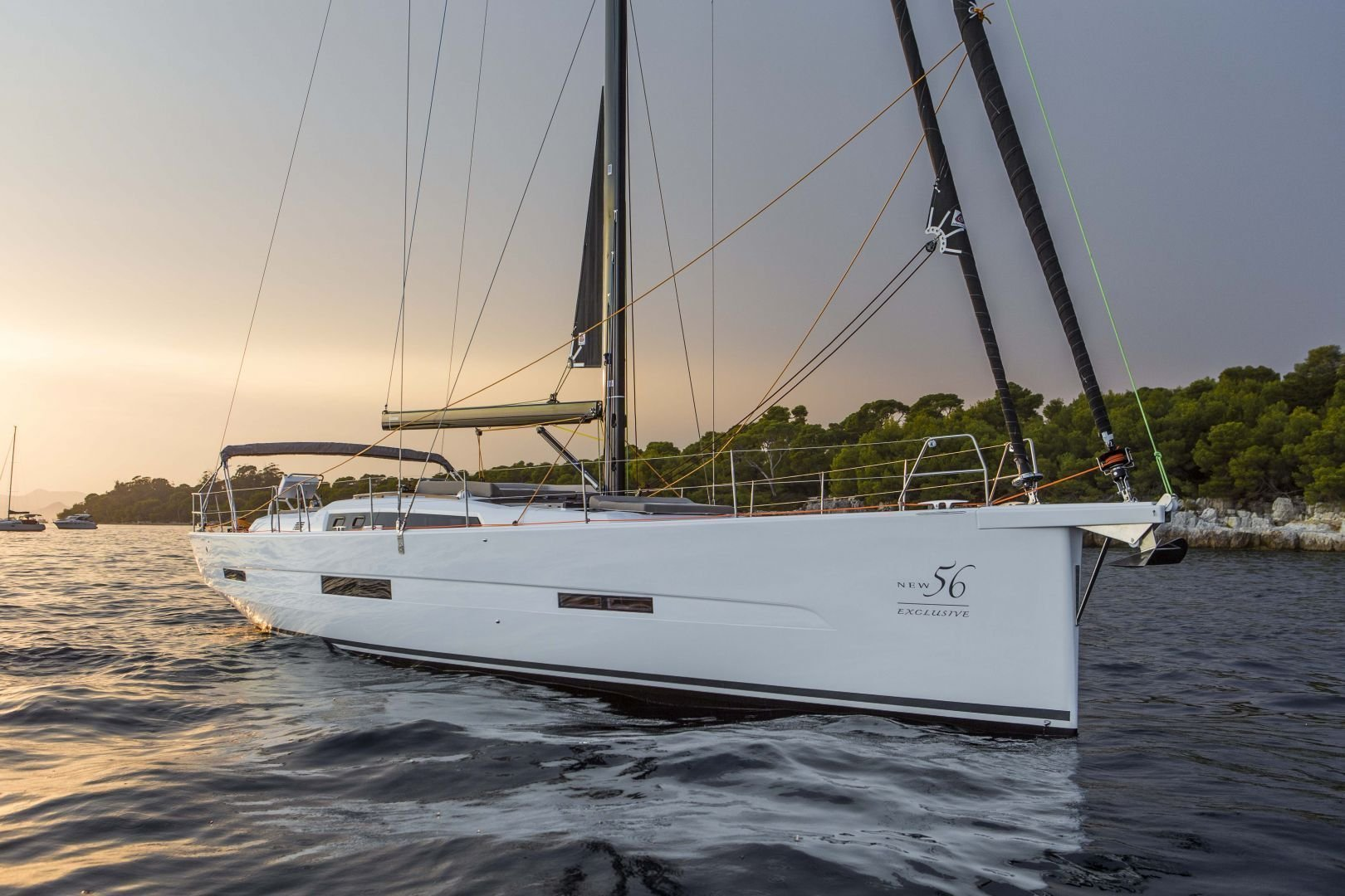 Dufour Exclusive 56 - 4 + 1 cab. (Nikto- fully equipped, gray hull)  - 0