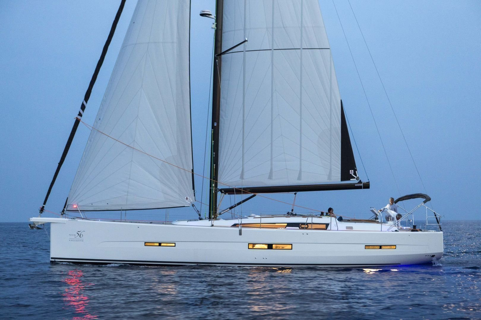 Dufour Exclusive 56 - 4 + 1 cab. (Nikto- fully equipped, gray hull)  - 2