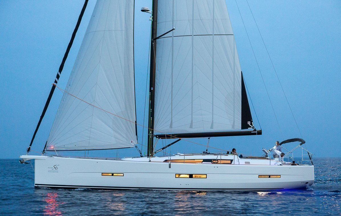 Dufour Exclusive 56 - 4 + 1 cab. (Nikto- fully equipped, gray hull)  - 3