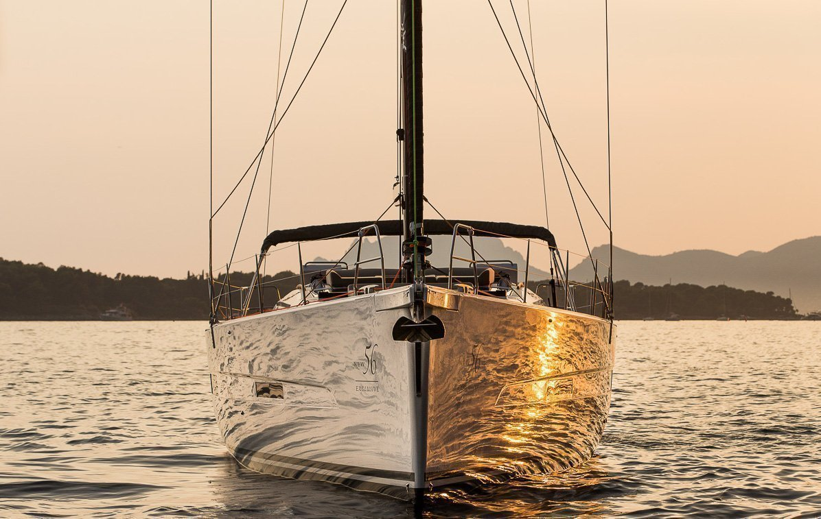 Dufour Exclusive 56 - 4 + 1 cab. (Nikto- fully equipped, gray hull)  - 6