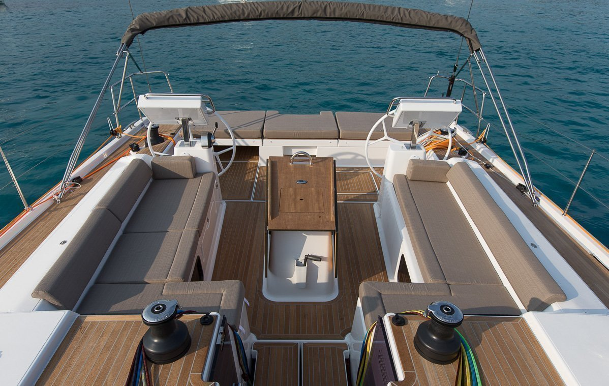 Dufour Exclusive 56 - 4 + 1 cab. (Nikto- fully equipped, gray hull)  - 7