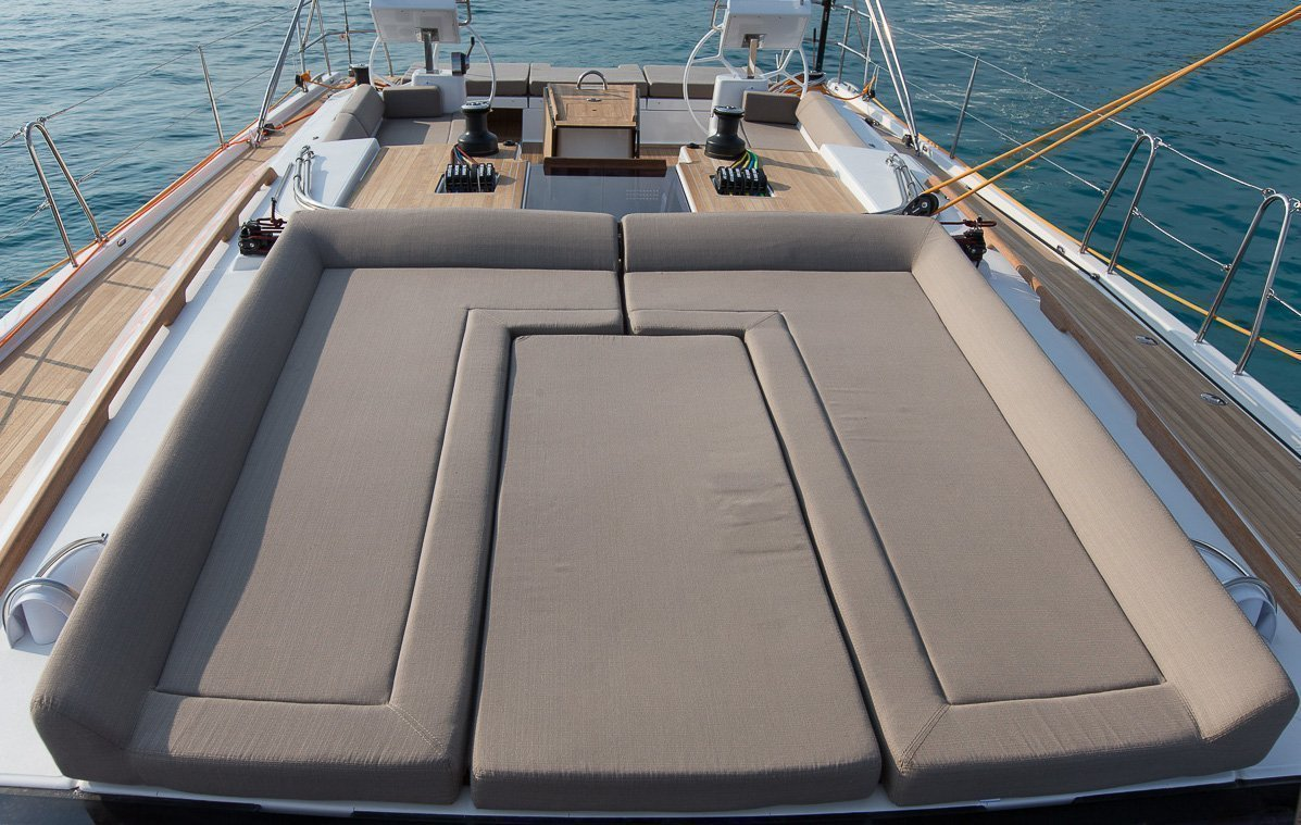 Dufour Exclusive 56 - 4 + 1 cab. (Nikto- fully equipped, gray hull)  - 8