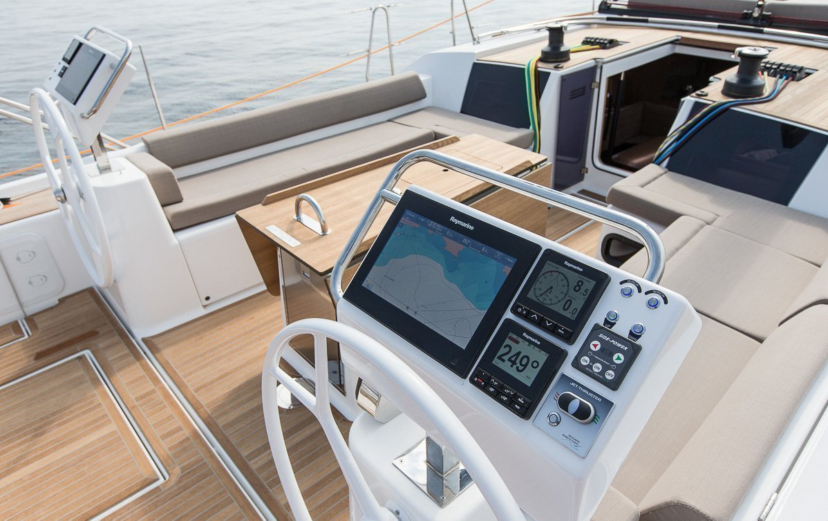Dufour Exclusive 56 - 4 + 1 cab. (Nikto- fully equipped, gray hull)  - 9