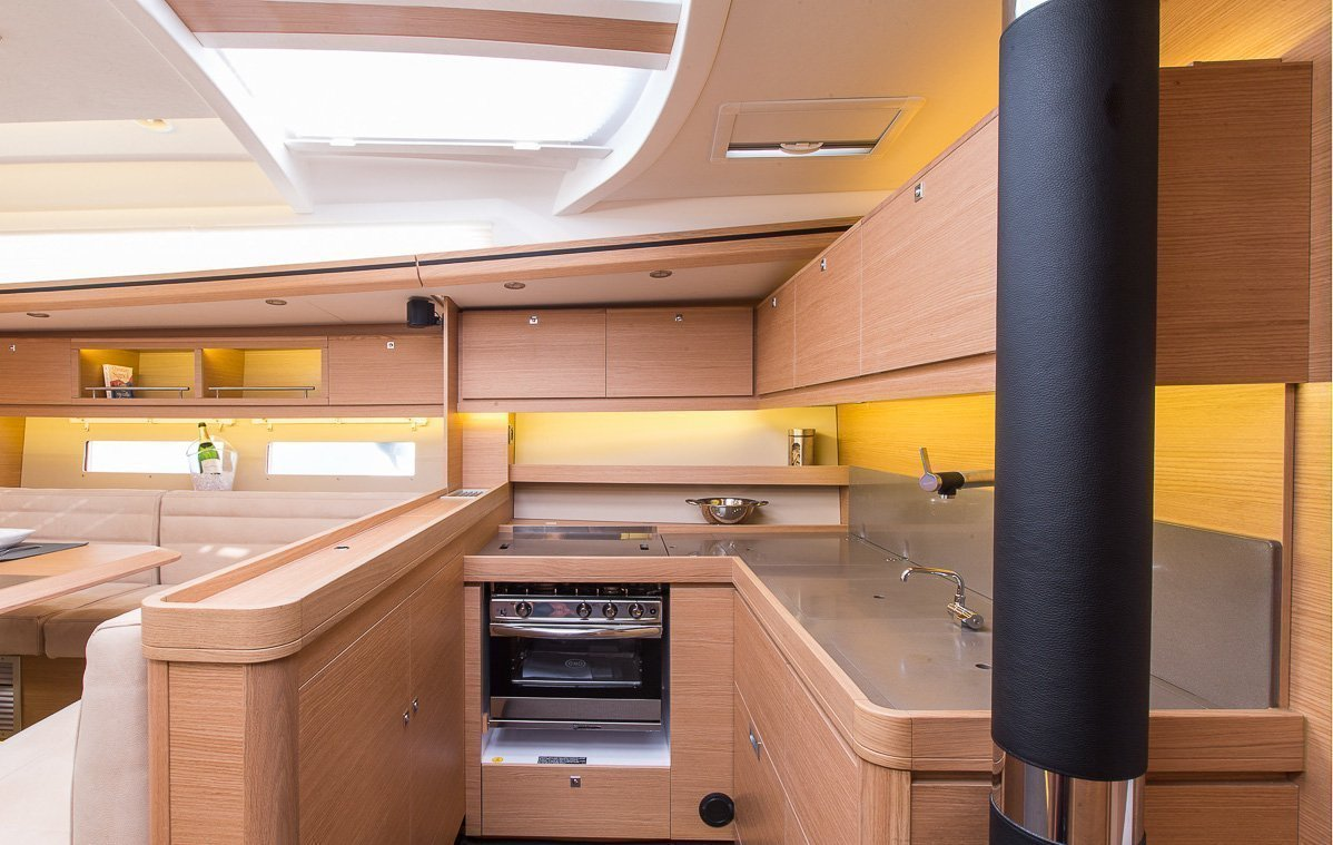 Dufour Exclusive 56 - 4 + 1 cab. (Nikto- fully equipped, gray hull)  - 15
