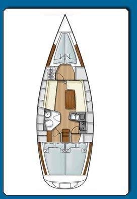 Hanse 341 (Esperia)  - 1