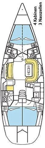 Sun Odyssey 49 DS (Uluru)  - 1
