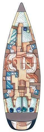 Sun Odyssey 54 DS (Boomerang)  - 1