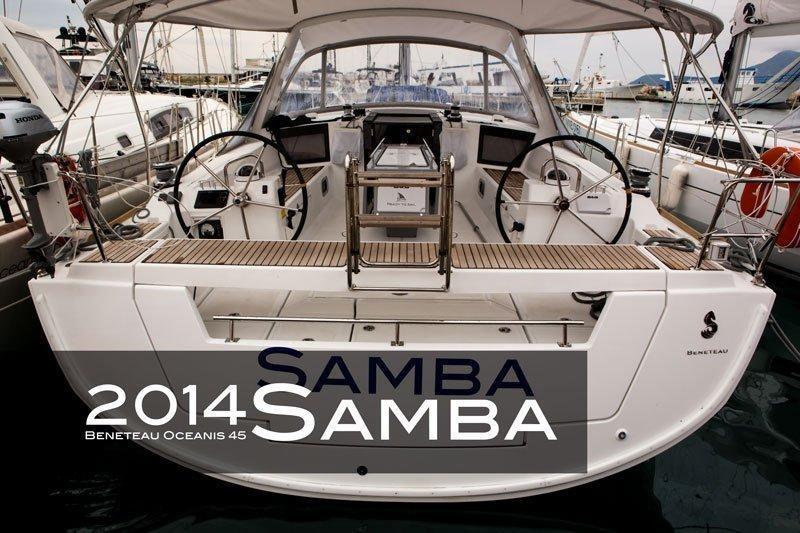 Oceanis 45 - 4 cab. (Samba)  - 5