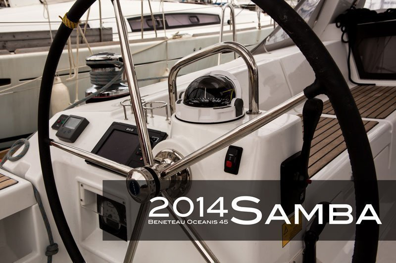 Oceanis 45 - 4 cab. (Samba)  - 6
