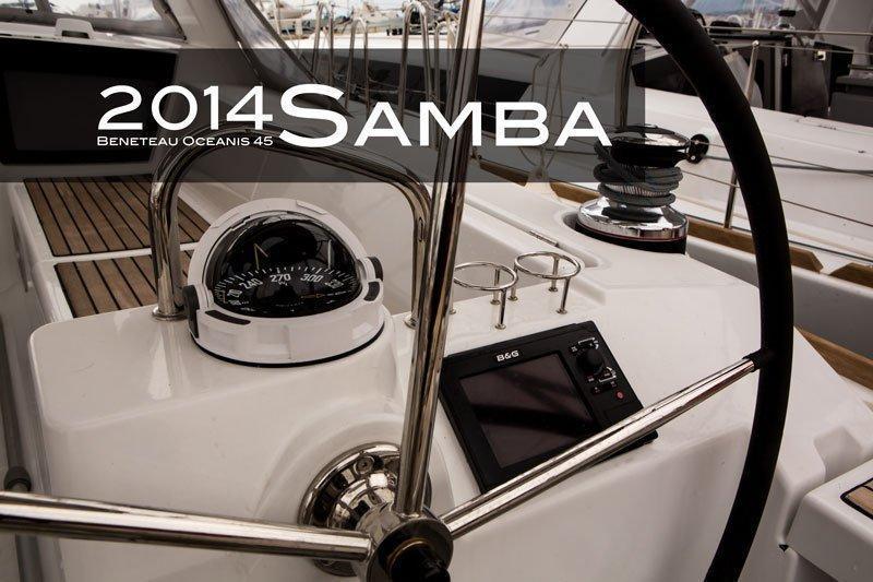 Oceanis 45 - 4 cab. (Samba)  - 7