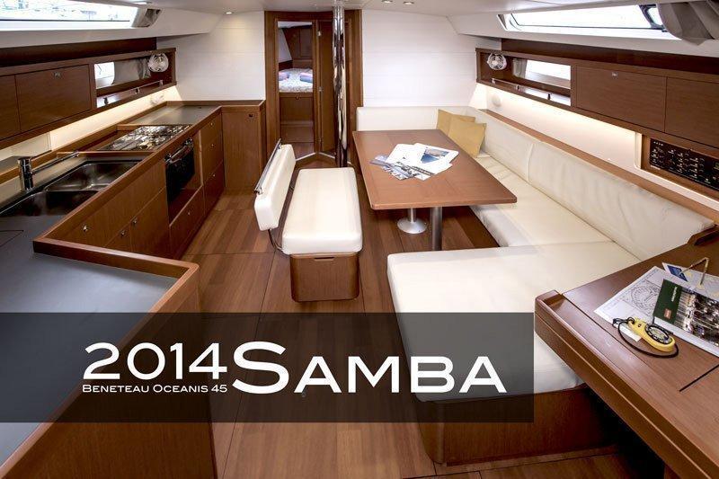 Oceanis 45 - 4 cab. (Samba)  - 8