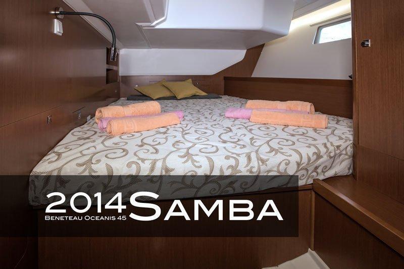 Oceanis 45 - 4 cab. (Samba)  - 10
